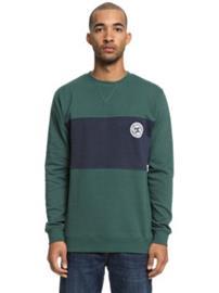 DC Rebel Block Crew Sweater hunter green Miehet