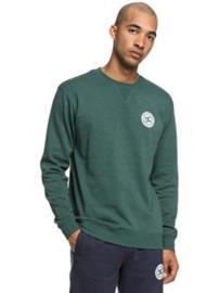 DC Rebel Crew Sweater hunter green Miehet