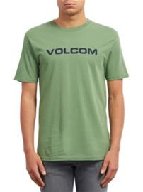 Volcom Crisp Euro Basic T-Shirt dark kelly Miehet