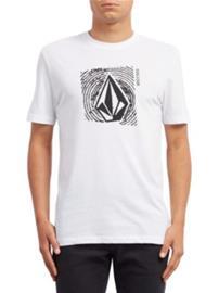 Volcom Stonar Waves Dd T-Shirt white Miehet