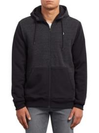 Volcom Sngl Stone Lined Zip Jacket sulfur black Miehet