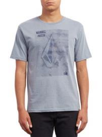 Volcom Line Tone Heather T-Shirt arctic blue Miehet