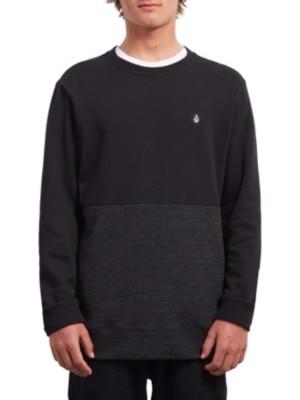 Volcom Sngl Stone Div Crew Sweater sulfur black Miehet