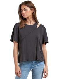 Volcom Flomingo T-Shirt black Naiset