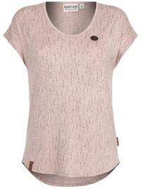 Naketano Fields Of Athenry T-Shirt vintage rose melange Naiset