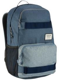 Burton Treble Yell Backpack grey heather Miehet