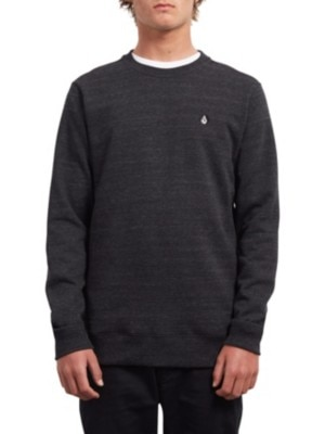 Volcom Single Stone Crew Sweater sulfur black Miehet