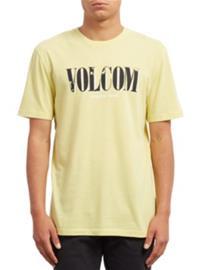 Volcom Lifer Dd T-Shirt acid yellow Miehet