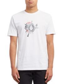 Volcom Radiate Basic T-Shirt white Miehet