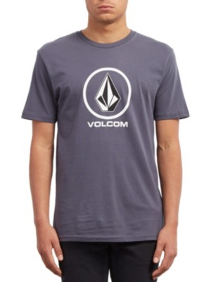 Volcom Crisp Stone Basic T-Shirt midnight blue Miehet