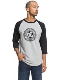 DC Research 3/4 Raglan T-Shirt LS black / grey heather Miehet