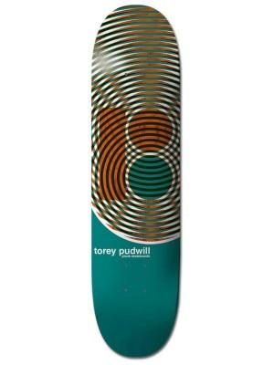 Plan B Pudwill Geometric 8.0'' Skateboard Deck uni