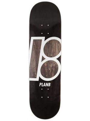 Plan B Team Stained 8.125'' Skateboard Deck uni