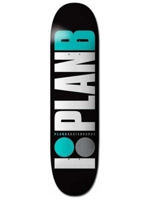 Plan B Team Og Teal 8.125'' Skateboard Deck uni