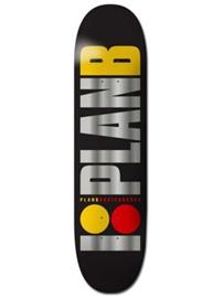 Plan B Team Og Blk Ice 8.25'' Skateboard Deck uni