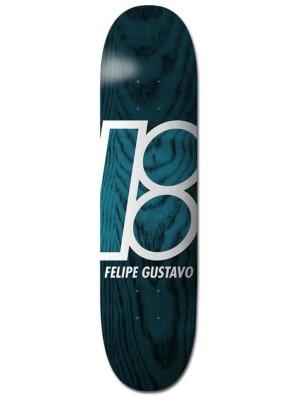 Plan B Gustavo Stained 8.0'' Skateboard Deck uni