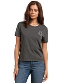 Volcom Skullactic Wave T-Shirt charcoal Naiset