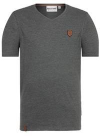 Naketano Gelinde Gesagt T-Shirt dark olive melange Miehet
