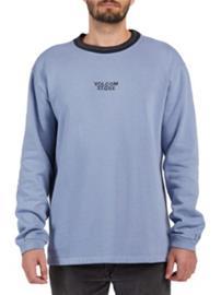 Volcom Noa Noise Sweater stone blue Miehet