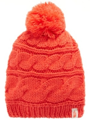 THE NORTH FACE Triple Cable Pom Beanie melon red Miehet