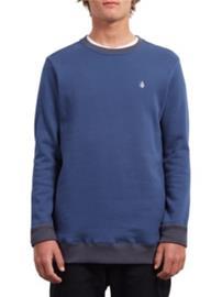 Volcom Single Stone Crew Sweater matured blue Miehet