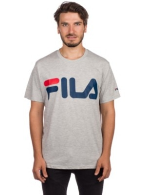 Fila Basic T-Shirt light grey melange bros Miehet