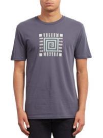 Volcom Mezo Basic T-Shirt midnight blue Miehet