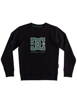 DC Glenridge Crew Sweater Boys black Jätkät