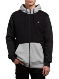 Volcom Sngl Stone Lined Zip Jacket black combo Miehet