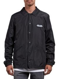 Volcom Brews Coach Windbreaker black Miehet