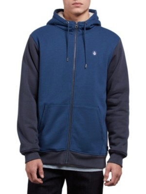 Volcom Sngl Stone Lined Zip Jacket matured blue Miehet