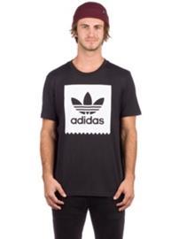 adidas Skateboarding Solid BB T-Shirt black / white Miehet
