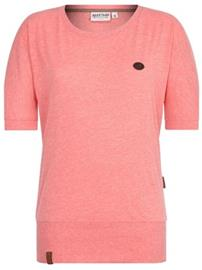 Naketano Baunxxx Wit It T-Shirt kinky red melange Naiset