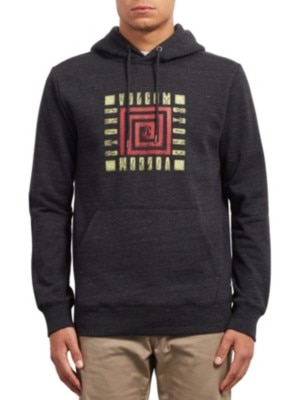 Volcom Supply Stone Hoodie sulfur black Miehet