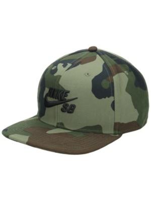 Nike SB Icon Snapback Cap medium olive / medium olive Miehet