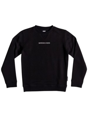 DC Craigburn Crew Sweater Boys2 black Jätkät