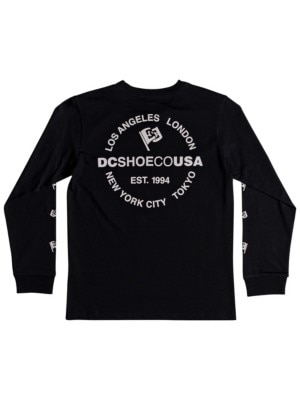 DC Worldwide Flag T-Shirt Boys black Jätkät