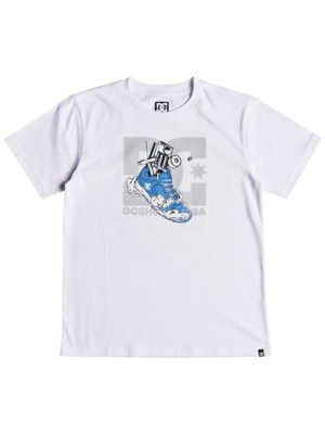 DC Kick Out T-Shirt Boys snow white Jätkät