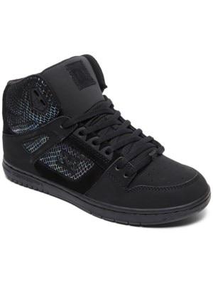 DC Pure HT SE Sneakers Women black / silver / black Naiset