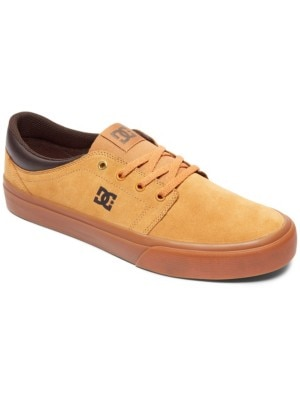 DC Trase S Skate Shoes brown / gum Miehet
