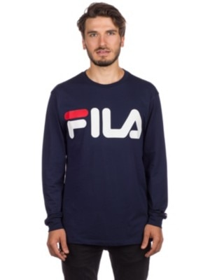 Fila Classioc Logo T-Shirt LS black iris Miehet
