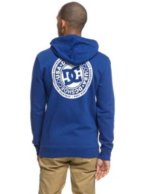 DC Circle Star Zip Hoodie sodalite blue Miehet