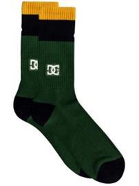 DC To Me Two Socks hunter green Miehet