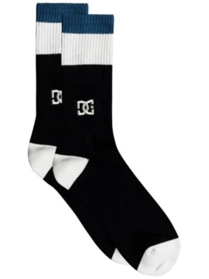 DC To Me Two Socks black Miehet