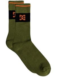 DC To Me Socks burnt olive Miehet