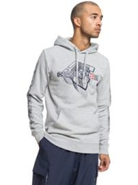 DC Phaser Hoodie grey heather Miehet