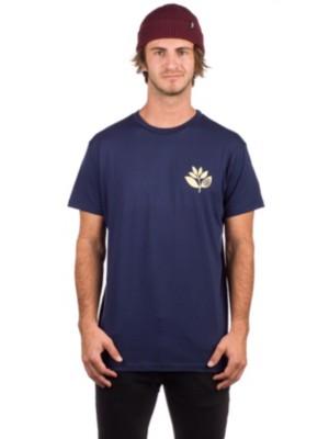 Magenta Heart Plant T-Shirt navy Miehet