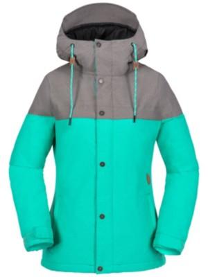 Volcom Bolt Ins Jacket teal green Naiset