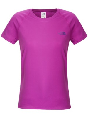 THE NORTH FACE Solid Flex Crew Tech Tee magic magenta Naiset
