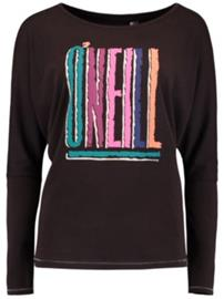 O'Neill Reissue T-Shirt LS black out Naiset